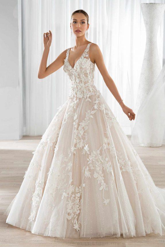 051b7e33e30 demetrios 2017__10 - zinnia bridal Dress