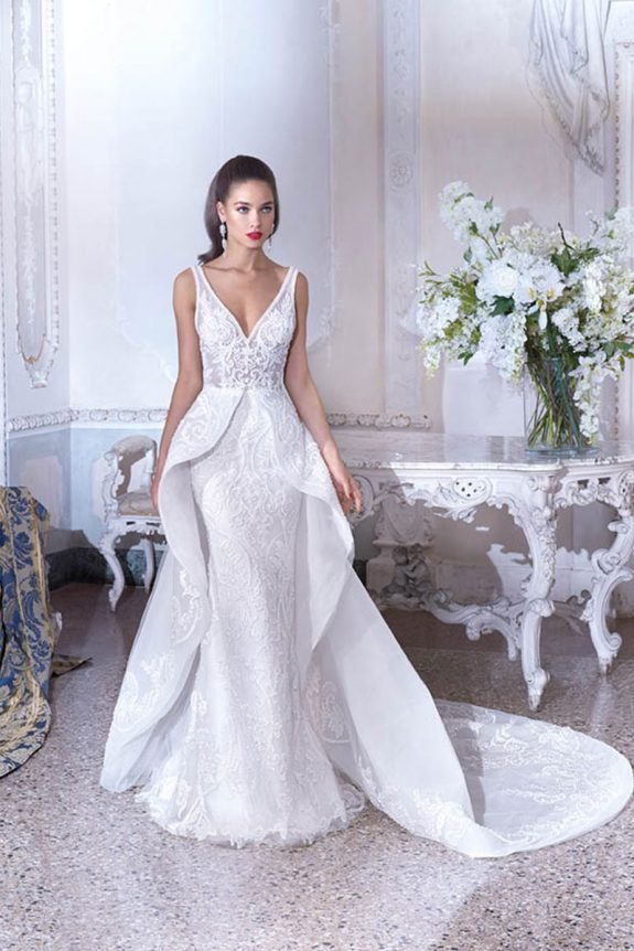e574140178 Platinum demetrios 2019 - zinnia bridal Dress